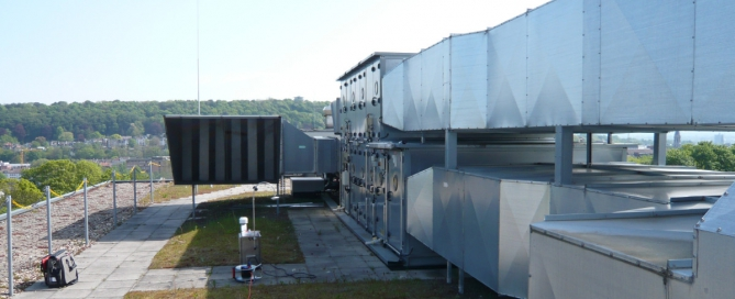 Eco-Luft RLT Anlage Raum Klima Messtechnik